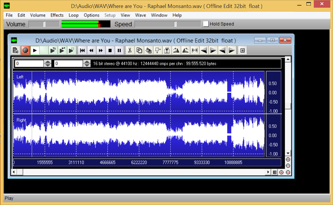 MacWaves Audio Editor